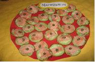 Rencontre Marmiton : blinis vert au saumon mariné