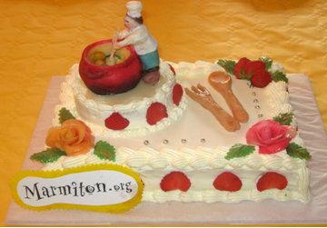 Rencontre Marmiton : fraisier Marmiton