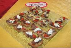 Rencontre Marmiton : tartines chaudes de tomates et magret