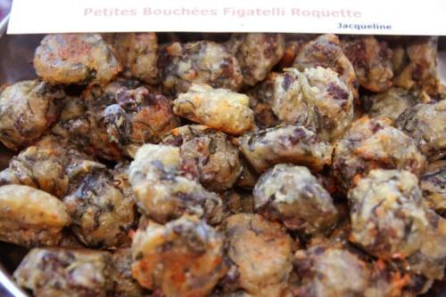 Petites bouchées Figatelli/Roquette (Jacqueline)
