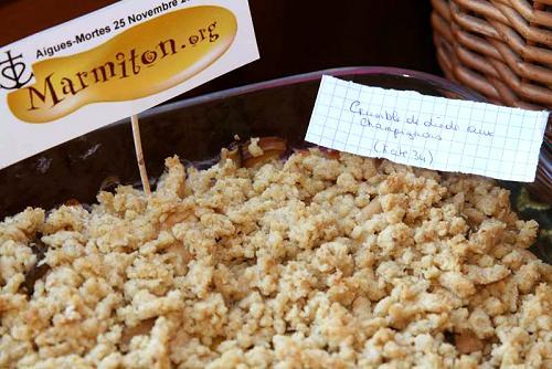 Crumble de Dinde aux Champignons (Kate34)