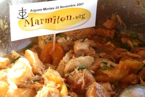 Poulet au miel et aux abricots (Marielle)