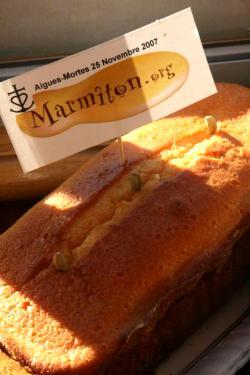 Cake Orange-Cardamome (Natthou)