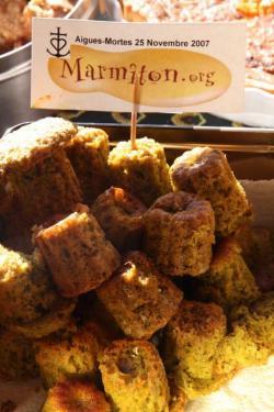 Muffins aux Pistaches de Christophe