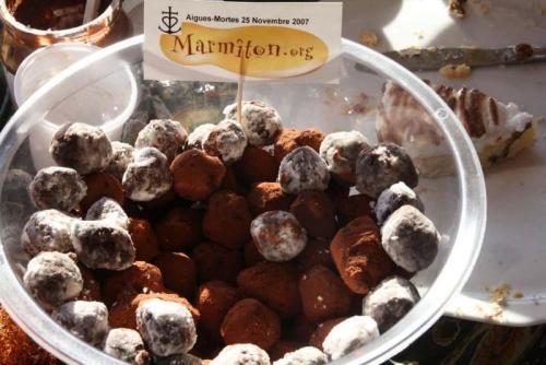 Truffes au Chocolat et au Marron (Claire 42)