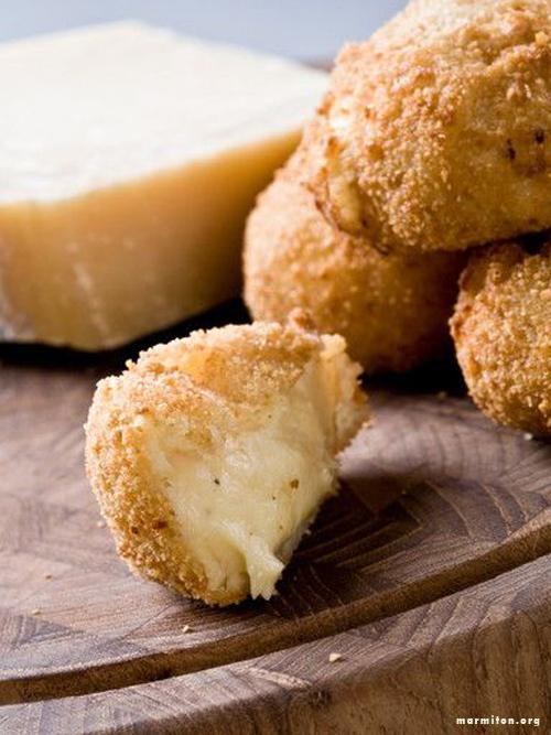 Pinterest cuisine : croquette parmesan