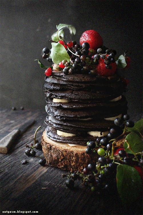 Pinterest cuisine : pancake tim burton