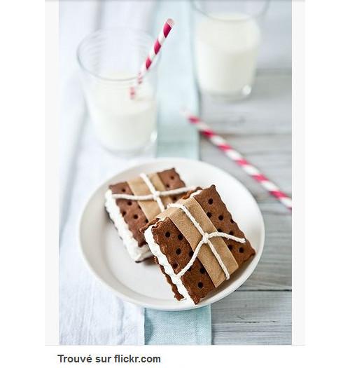 Pinterest cuisine : sandwich de glace