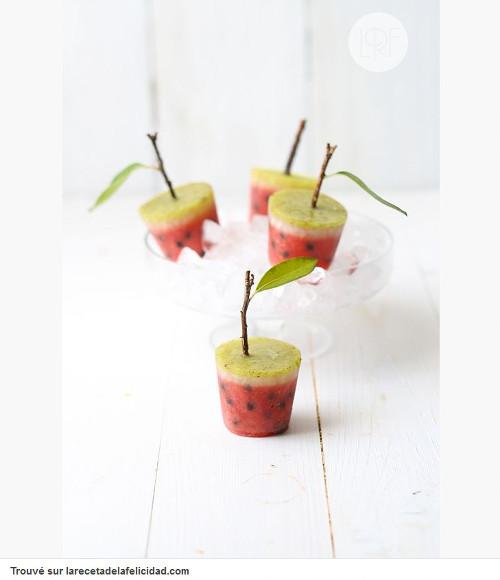 Pinterest cuisine : glace petit arbre