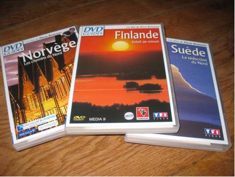 DVD sur la Scandinavie