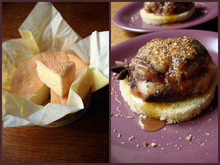Figues munster : desserts de fromage