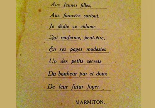 Le Blog De Marmiton L Ancetre De Marmiton Un Livre
