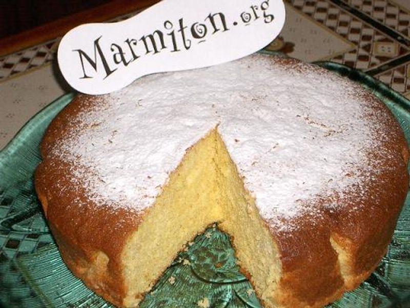 Gâteau au jus d\u0027orange  Recette de Gâteau au jus d\u0027orange