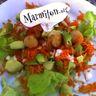 Salade fraîcheur aux St-jacques