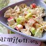 Salade de pâtes au yaourt