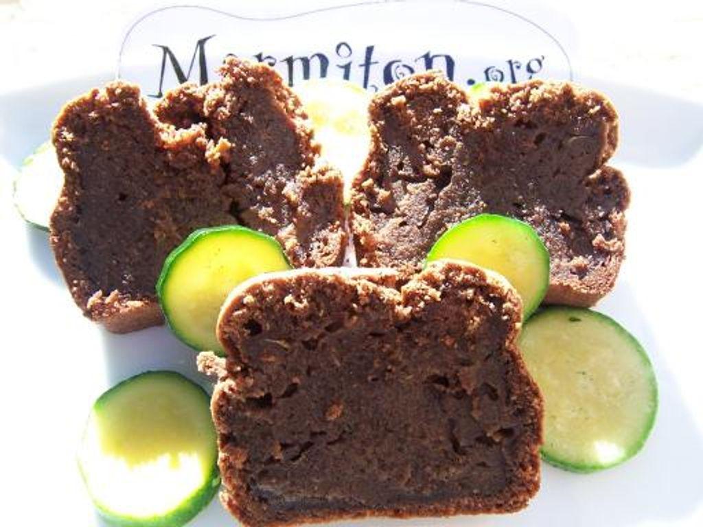 Cake aux courgettes et chocolat : Recette de Cake aux ...