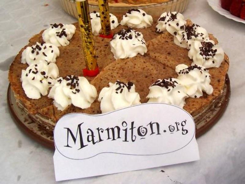 Gâteau De Crêpes Aux Deux Chocolats Recette De Gâteau De Crêpes