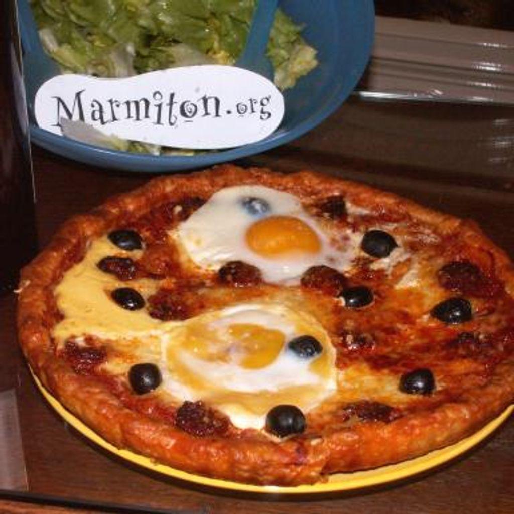 Pizza Royale Recette De Pizza Royale Marmiton
