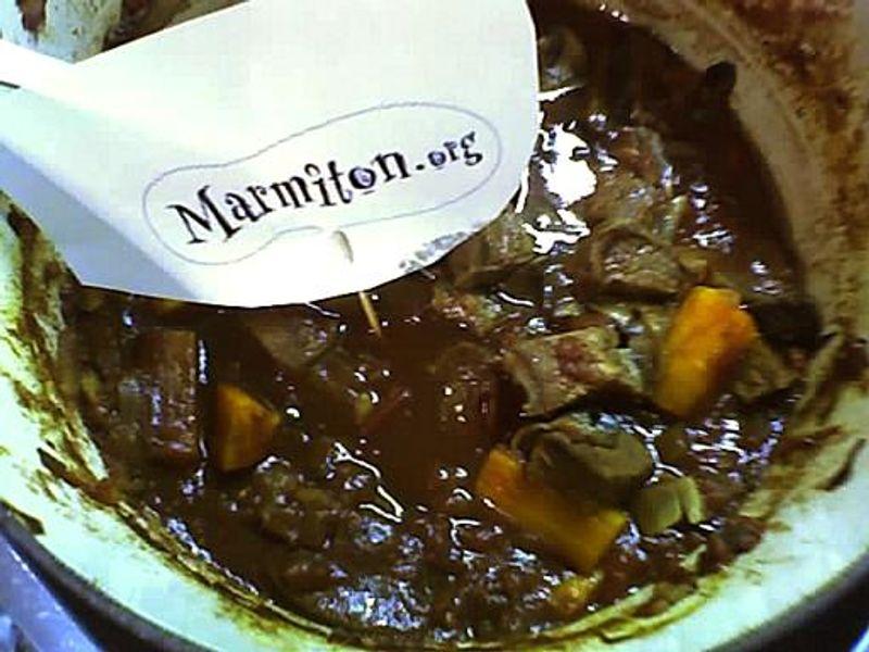 Boeuf en sauce à l\u0027irlandaise  Recette de Boeuf en sauce à