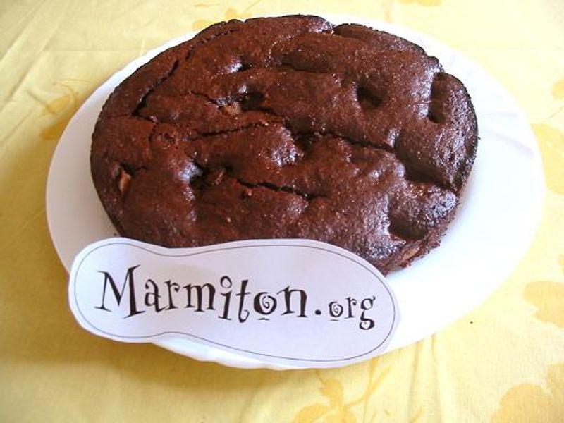 Gâteau Chocolat Poire Et Amandes Recette De Gâteau Chocolat