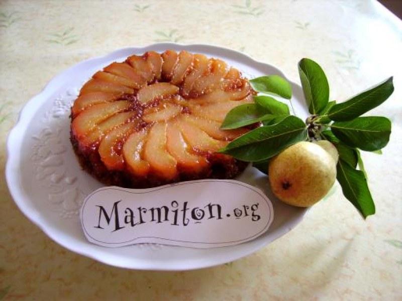 Gâteau Caramélisé Aux Poires Recette De Gâteau Caramélisé