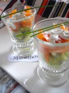 Recette verrines salees pour aperitif marmiton