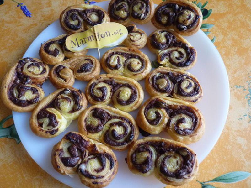 Palmiers Au Nutella Recette De Palmiers Au Nutella Marmiton