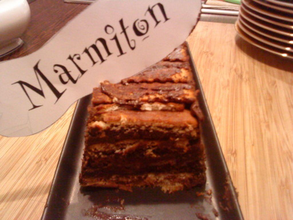 Gâteau à la mousse au chocolat et aux petits-beurre ...