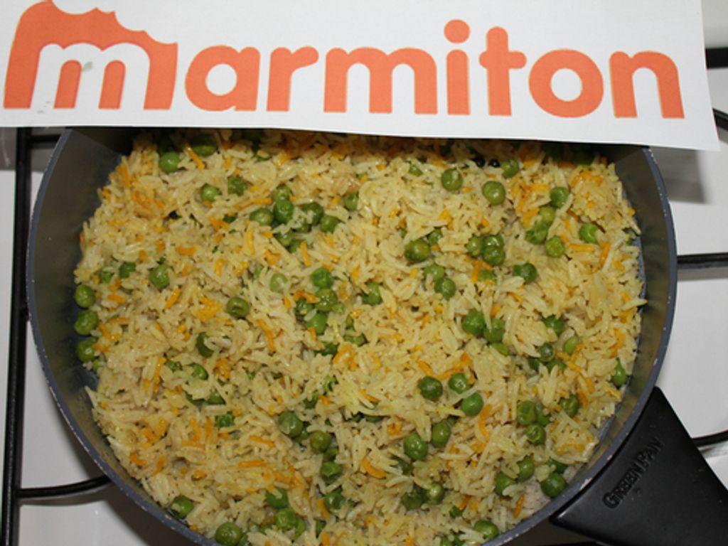 Riz indien aux petits pois recette de riz indien aux petits pois marmiton - Cuisiner les petits pois ...