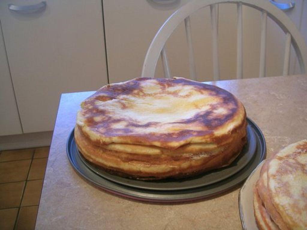 Gâteau De Crêpes à La Confiture Recette De Gâteau De Crêpes à La