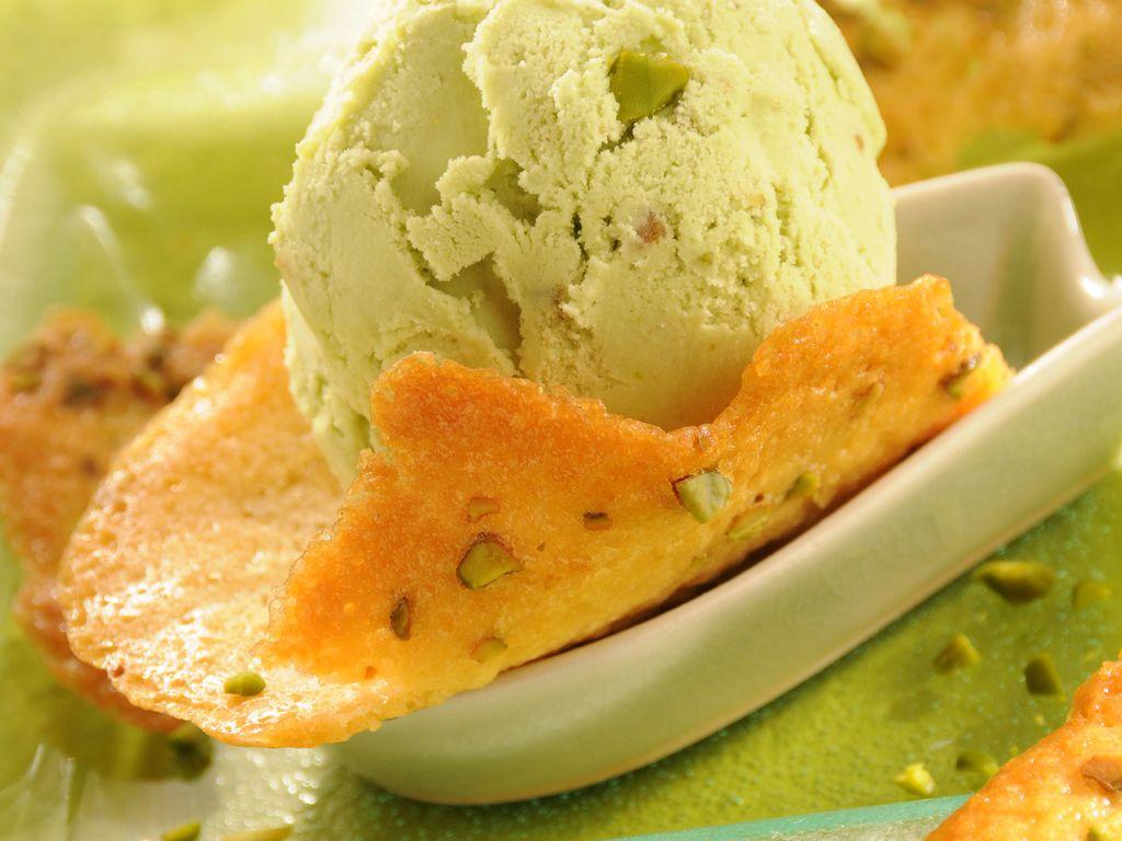 Recette Glace Pistache Sans Oeufs glace aux pistaches