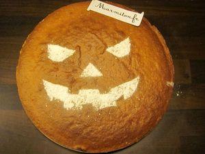 Gâteau D Halloween à La Citrouille