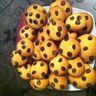 Cookies sablés au chocolat et au pralin