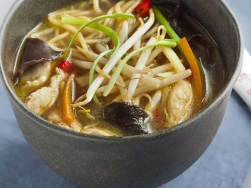 Soupe Chinoise Au Poulet Recette De Soupe Chinoise Au