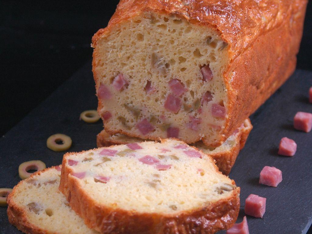 Cake Sale Au Jambon Et Aux Olives Recette De Cake Sale Au Jambon Et Aux Olives Marmiton