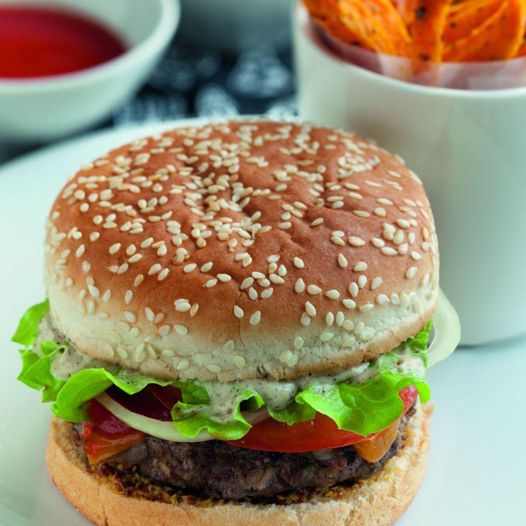 Hamburger Maison Recette De Hamburger Maison Marmiton