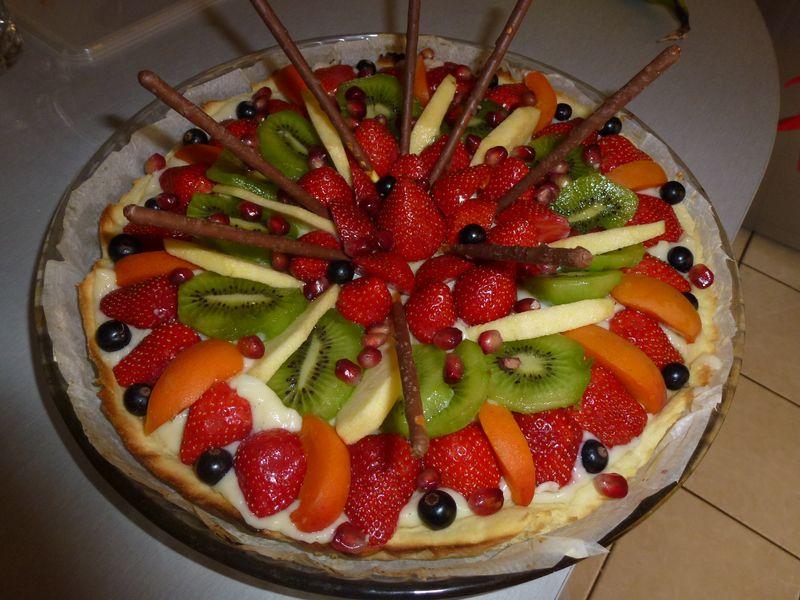 Tarte Multi Fruits Recette De Tarte Multi Fruits Marmiton