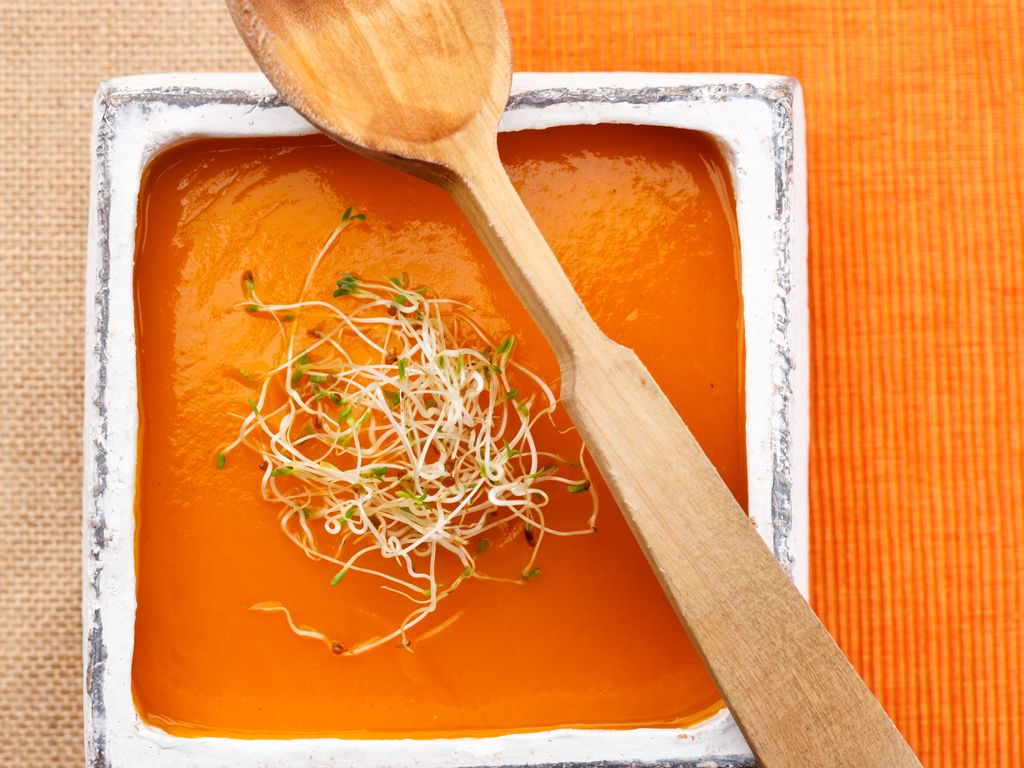 Soupe de carottes : Recette de Soupe de carottes - Marmiton