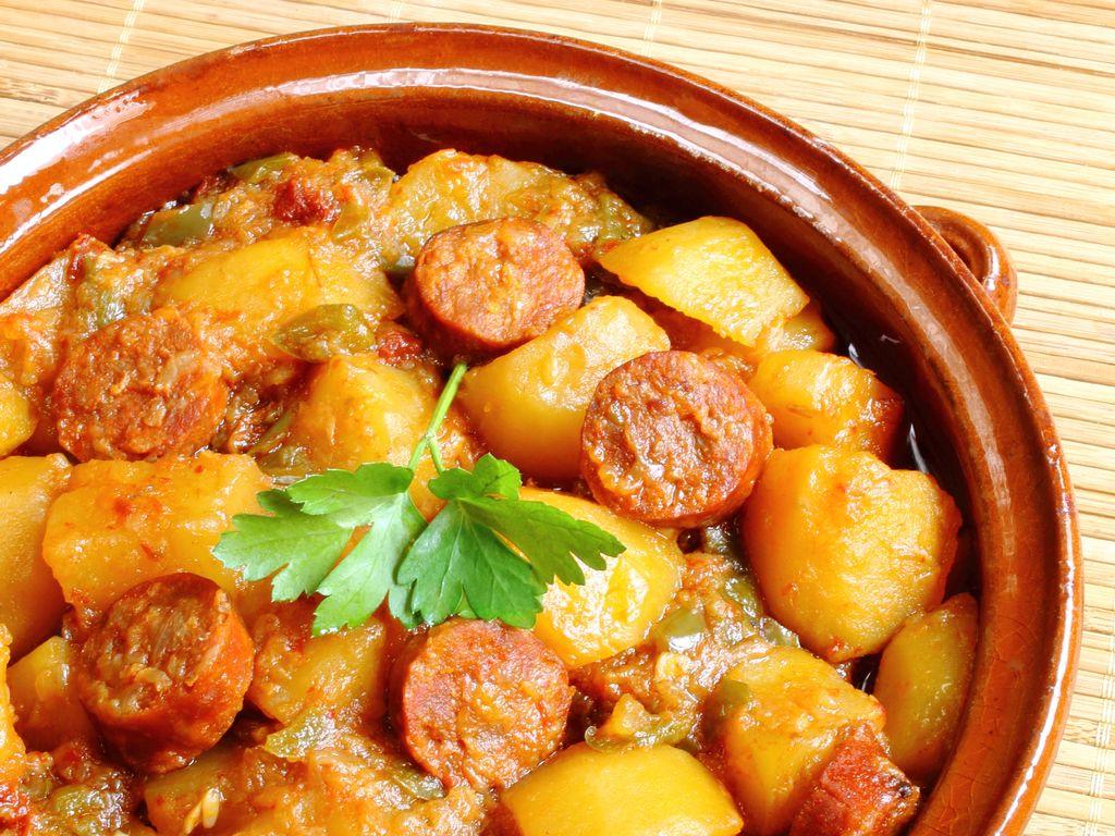 Chorizo Aux Pommes De Terres Recette De Chorizo Aux Pommes De