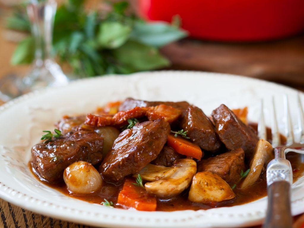勃艮第紅酒燉牛肉 Bœuf Bourguignon