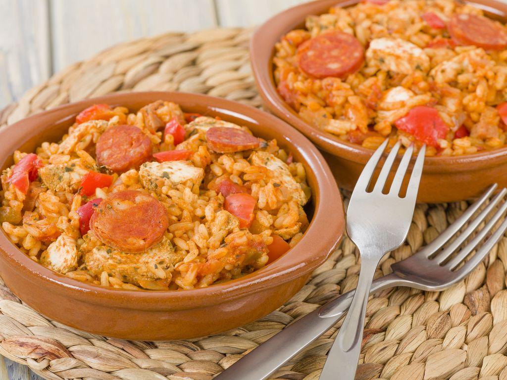 Image De Plat De Cuisine jambalaya poulet