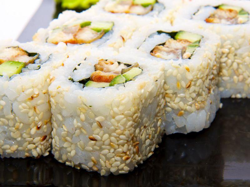Sushi Californien Maki Inversé Recette De Sushi