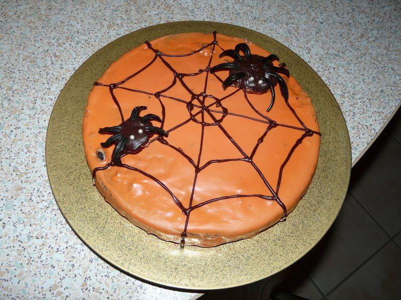 Gâteau aux araignées  Recette de Gâteau aux araignées