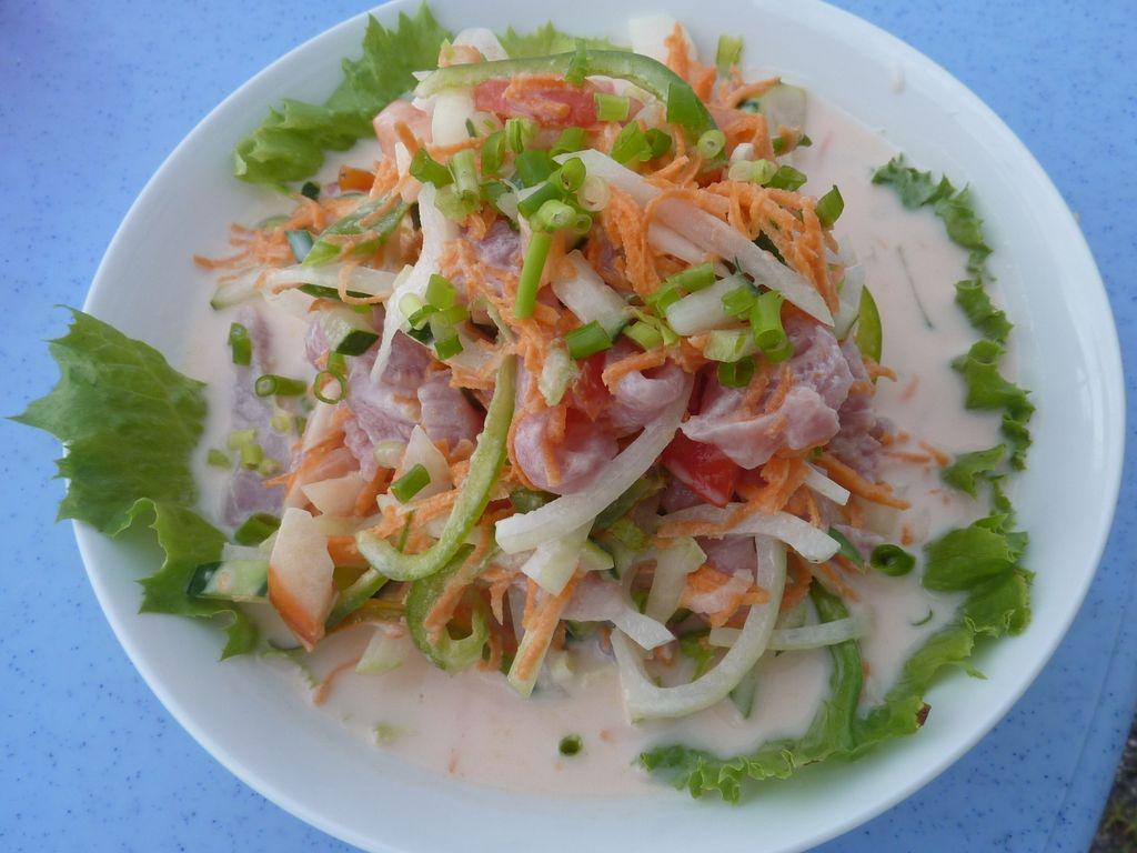 Poisson cru à la tahitienne  recette de Poisson cru à la ...