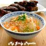 Salade et travers de porc aux saveurs asiatiques