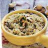 Risotto crémeux au bouillon de légumes