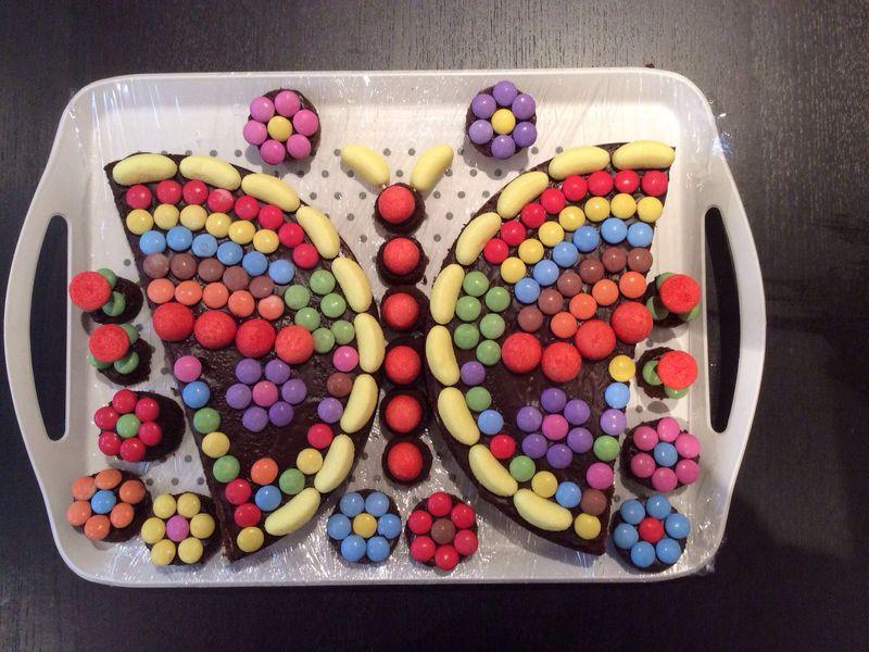 gâteau d'anniversaire en forme de papillon : recette de gâteau d