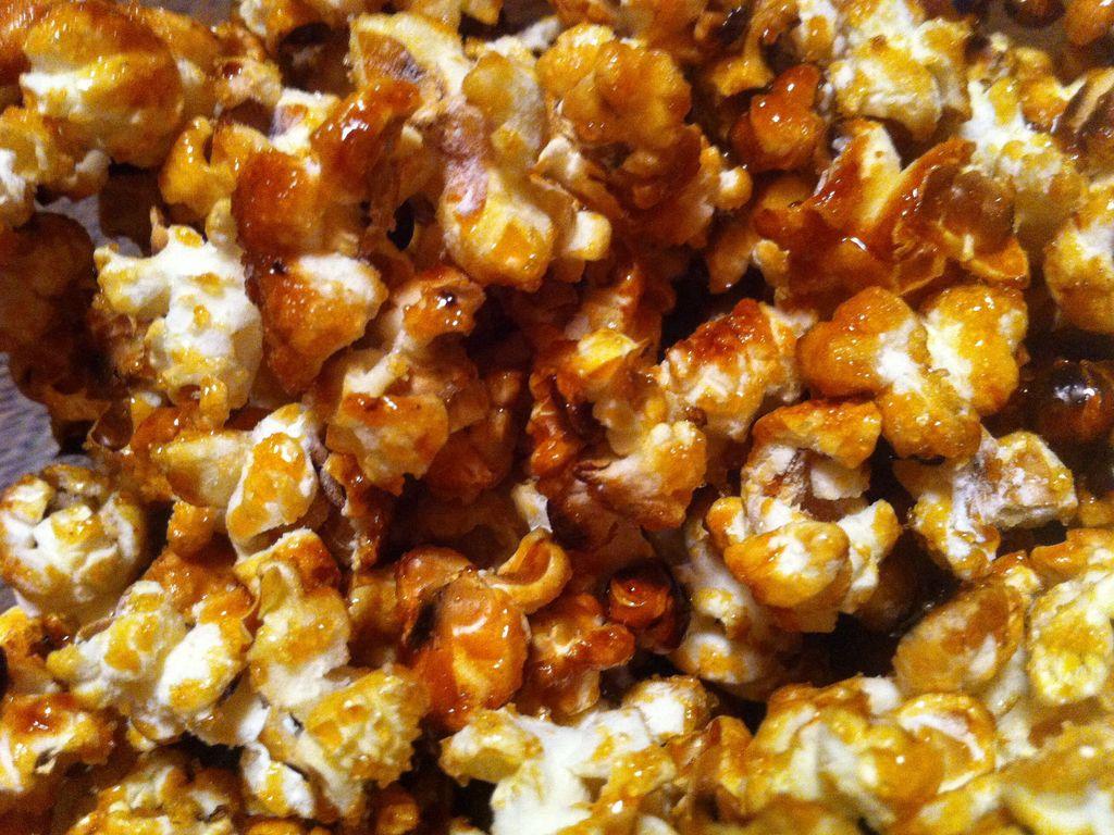 Pop-corn caramelisé