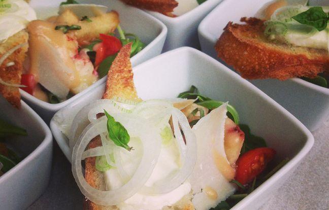 Salade d'été au chèvre frais : Recette de Salade d'été au ...