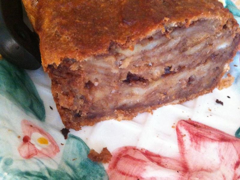 Gâteau chocolat au pain rassi  Recette de Gâteau chocolat